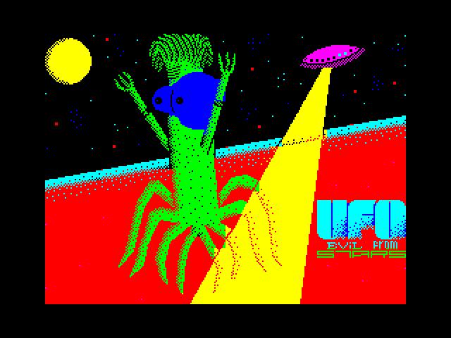 Ufo. Evil from stars