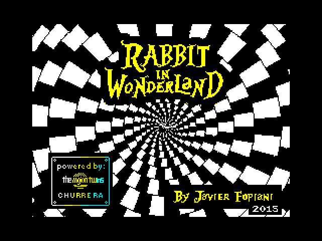 Rabbit in Wonderland