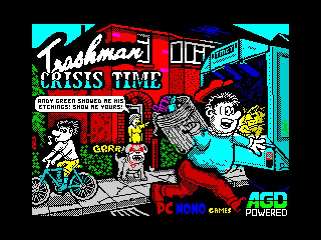 Trashman Crisis Time