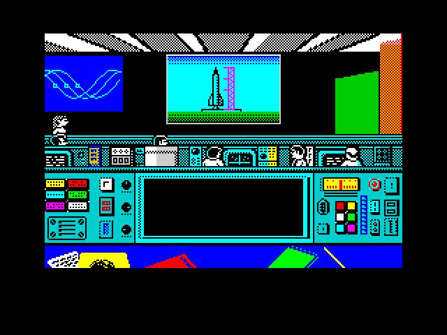 Ad Lunam Plus control mission room