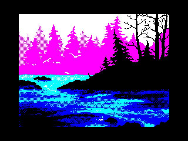На розовом озере