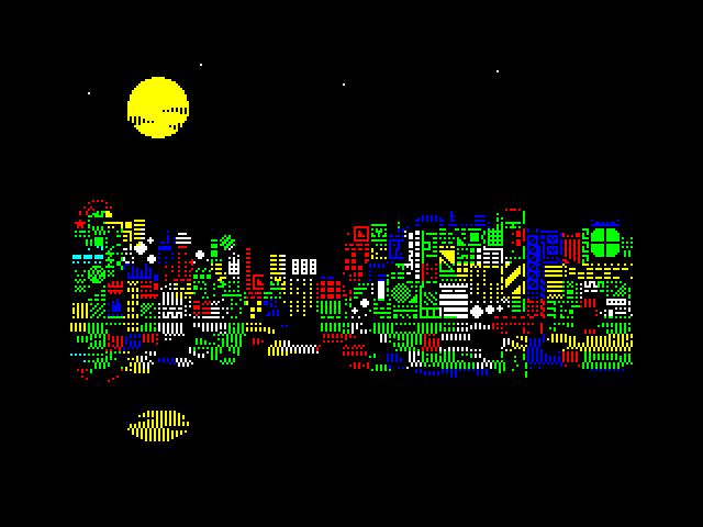 Night City Horizon