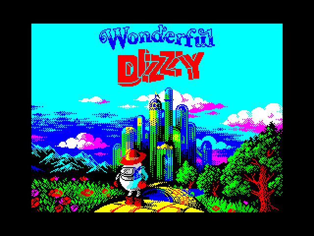 Wonderful Dizzy: Menu