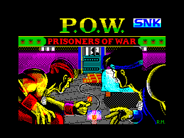 P.O.W. loading screen