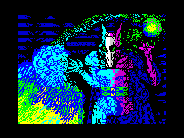 Shaman. ZX-ART