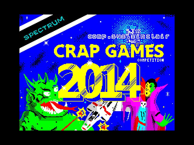 comp.sys.sinclair Crap Games Competition 2014