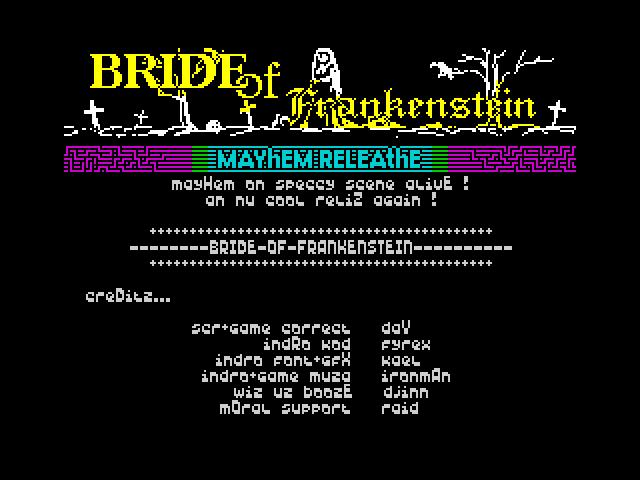 Bride Of Frankenstein (intro)