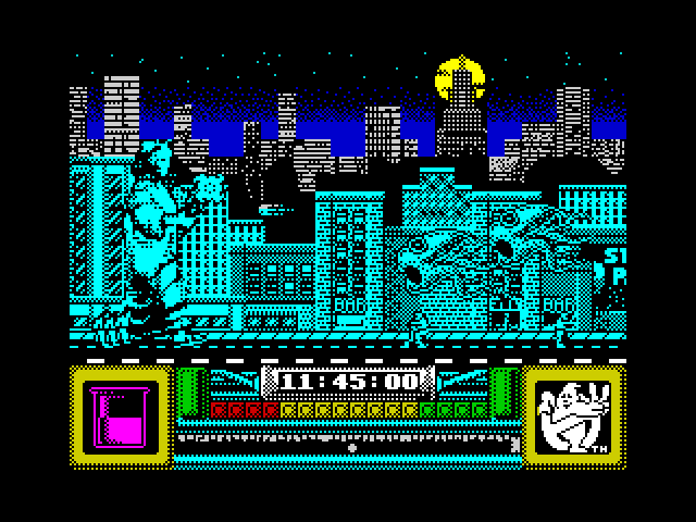 Ghostbusters II level 2 ingame