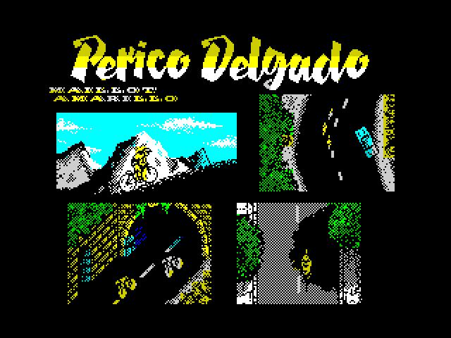 Perico Delgado Maillot Amarillo