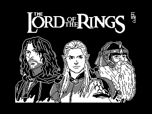 Lord of the rings v.1