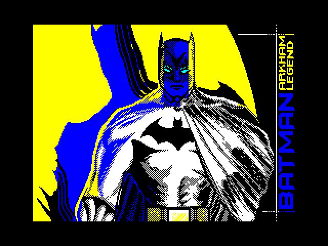Batman — Arkham legend