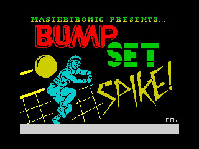Bump, Set, Spike!
