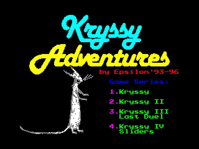Kryssy Adventures Intro