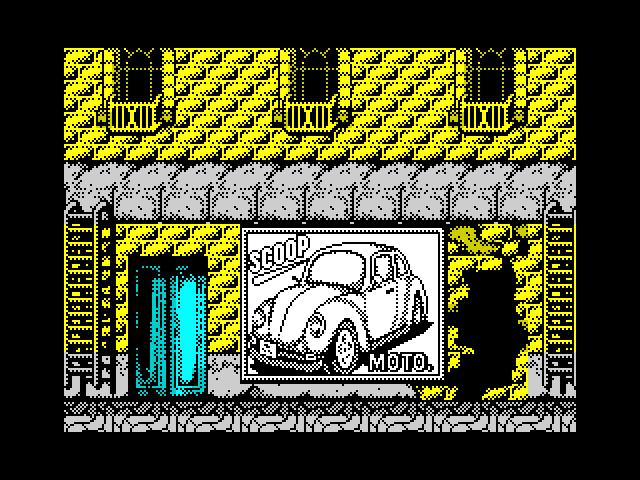 ZX Double Dragon Redux Level 1 Background 2
