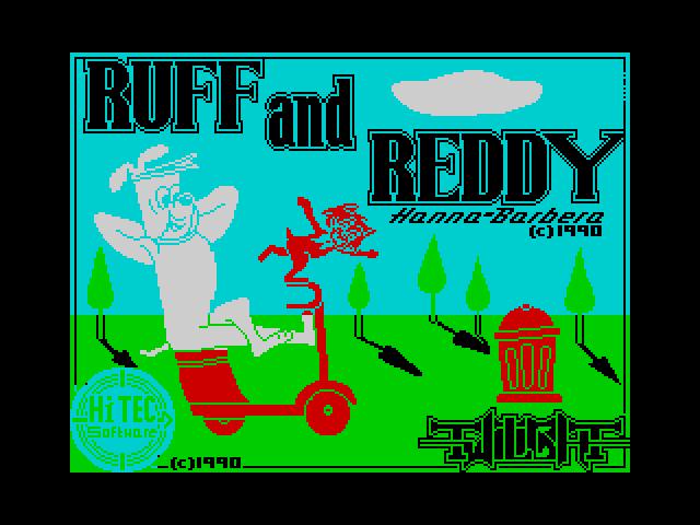 Ruff and Reddy in the Space Adventure