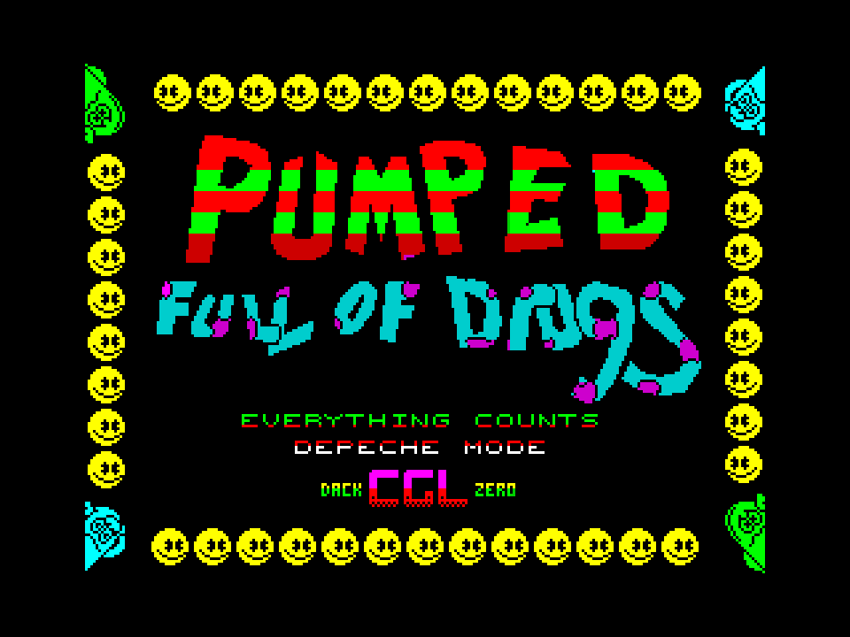 Pumped full of drugs