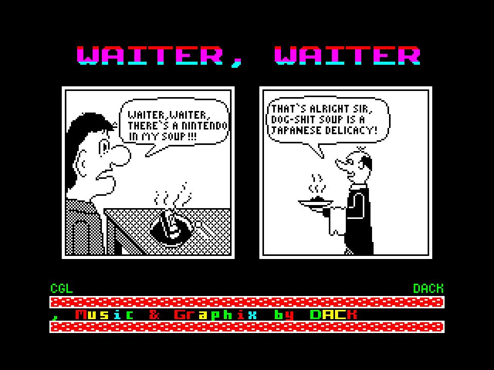 Waiter, waiter