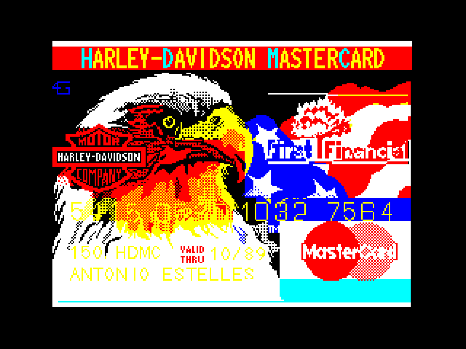HARLEY-DAVIDSON MASTERCARD