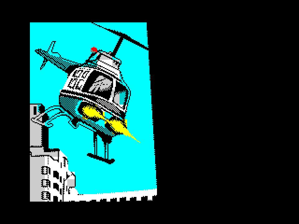 ZX Grand Theft Auto Vice City - Helicopter