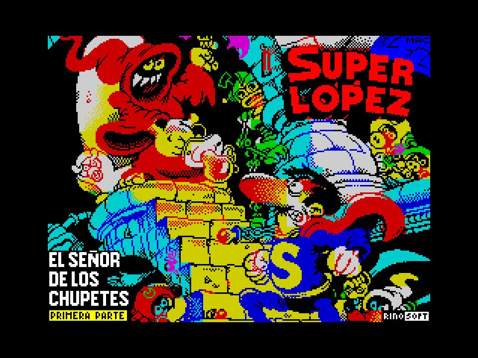 Super Lopez - El Senor de los Chupetes