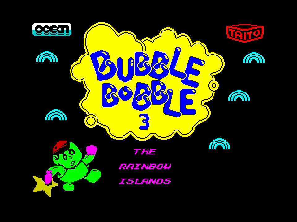 The Rainbow Islands - Bubble Bobble 3