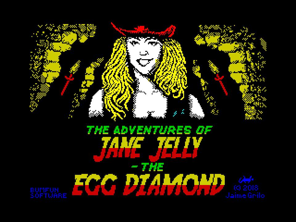 The Adventures of Jane Jelly: The Egg Diamond