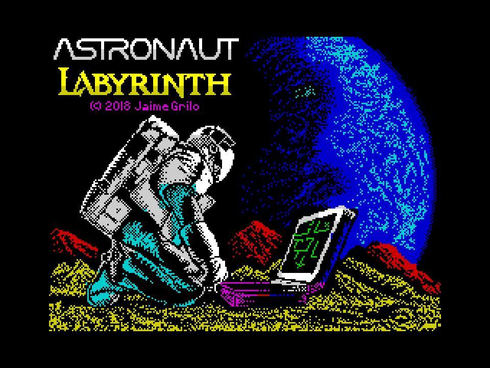 Astronaut Labyrinth