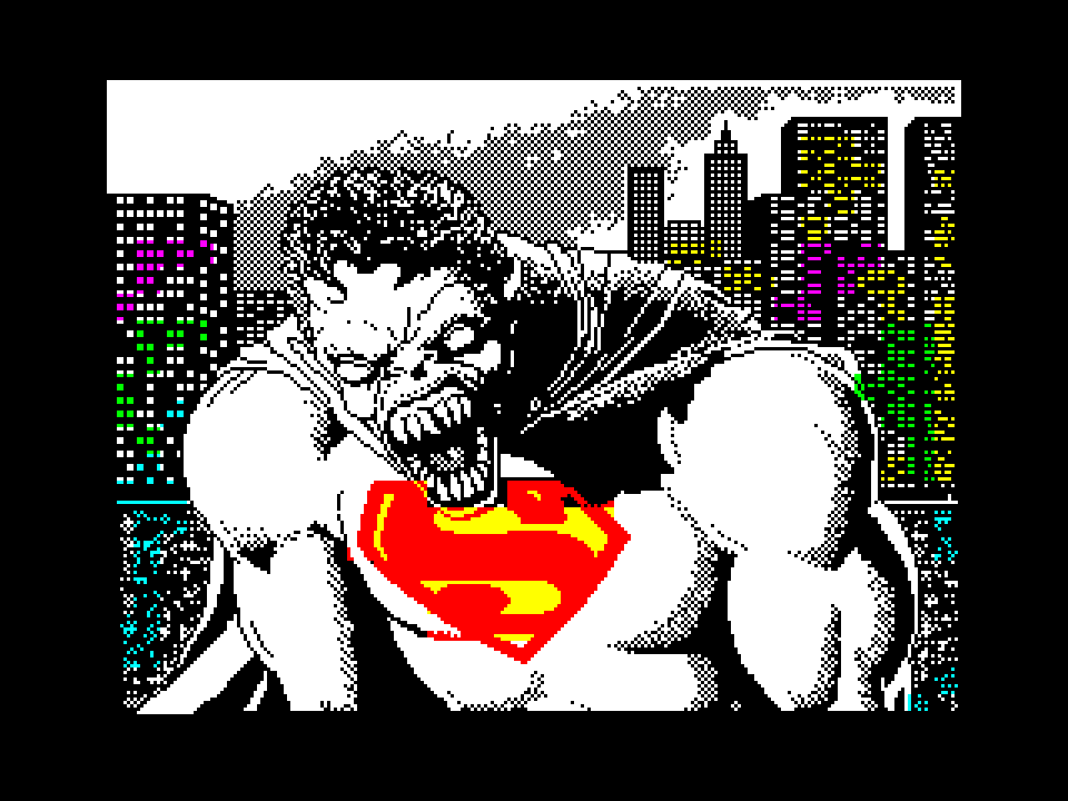 Superman Werewolf