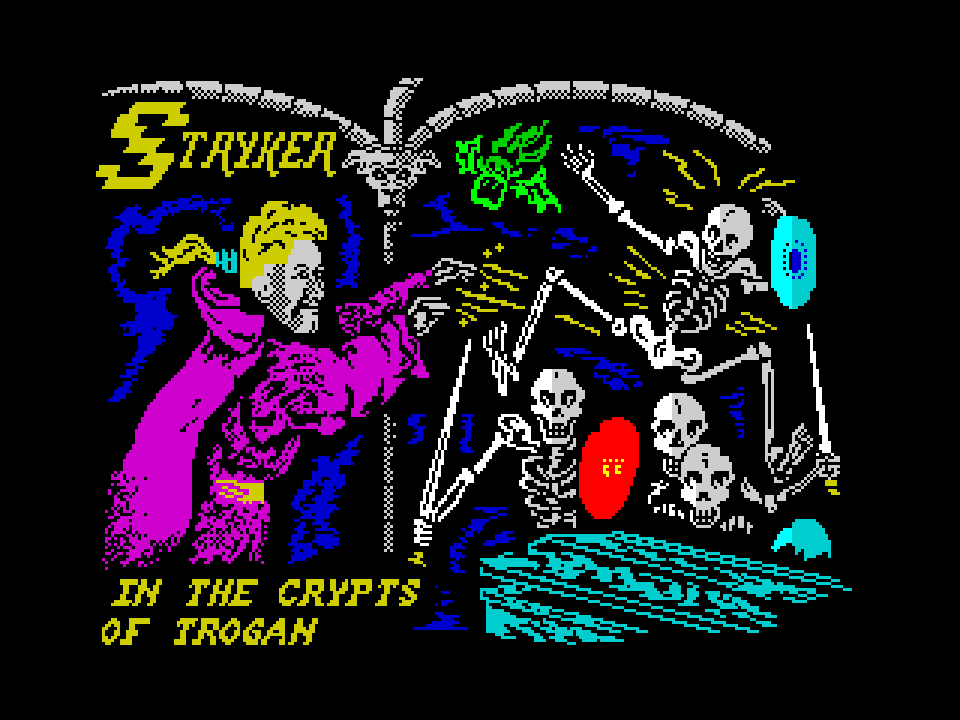 Stryker - in the Crypts of Trogan