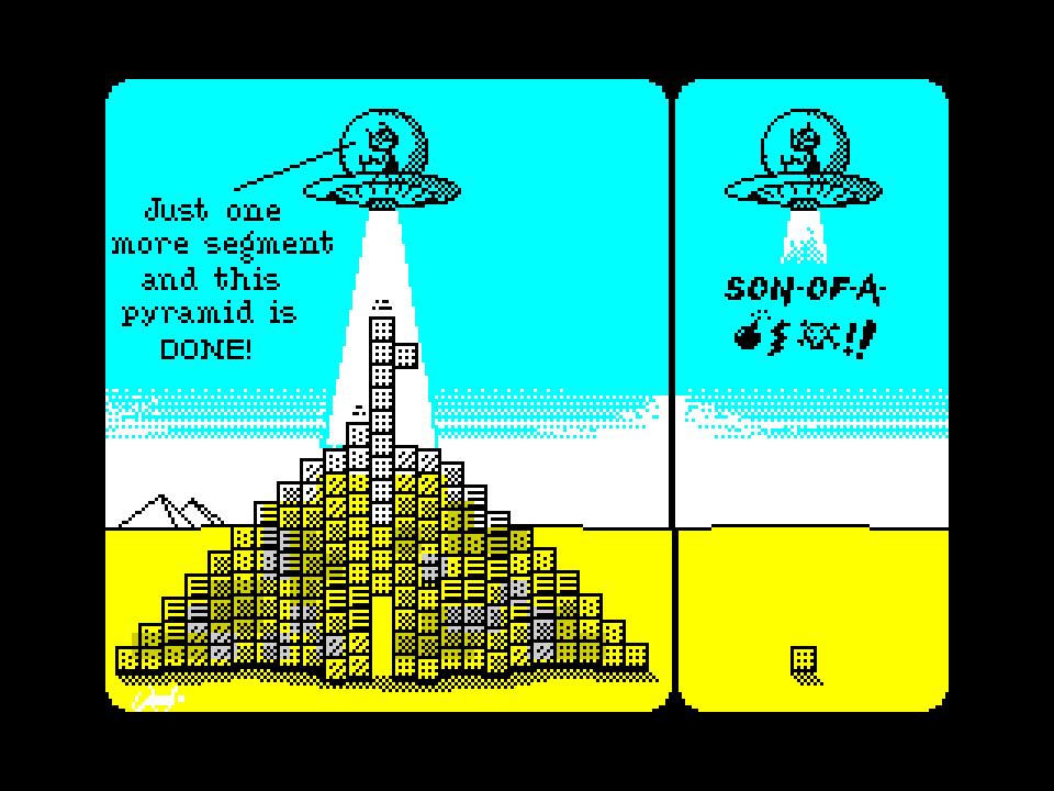 Close encounters of the funny kind... Tetris