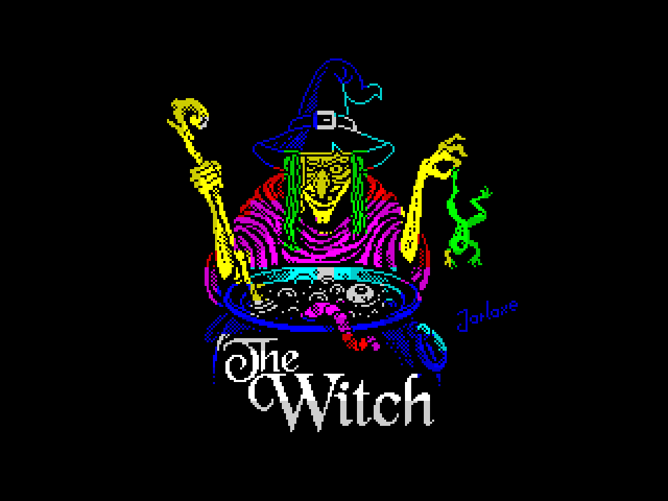 The Witch (color version)