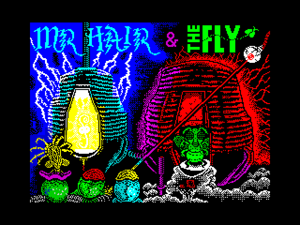 Mr Hair and The Fly