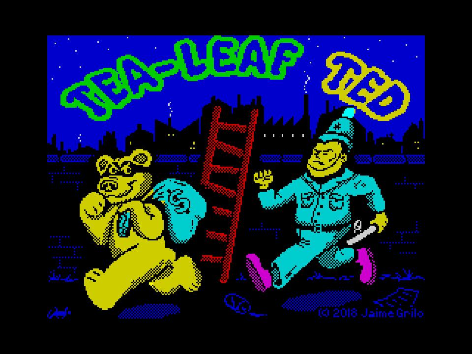 Tea-Leaf Ted (bear version)