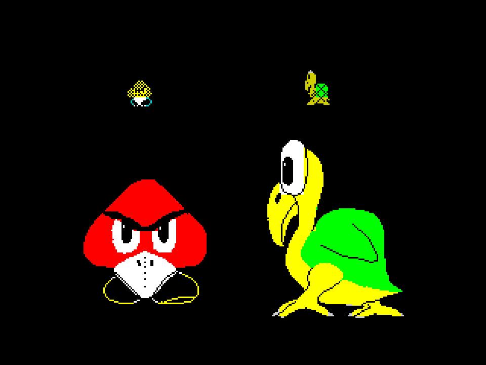 Все эти десятилетия Марио сражался с птицами