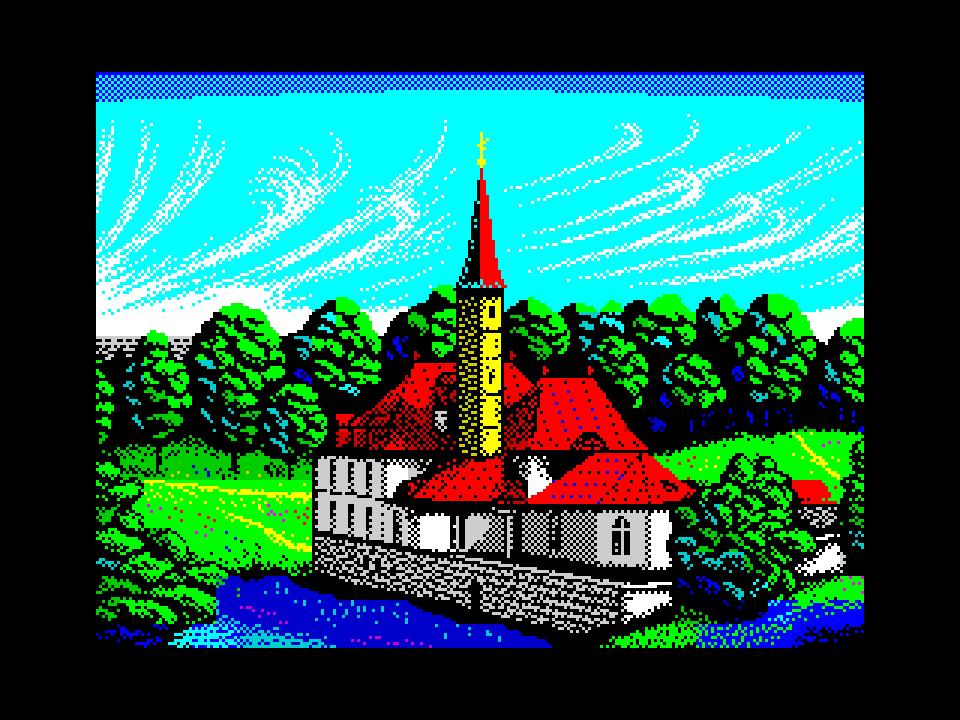 Замок над озером