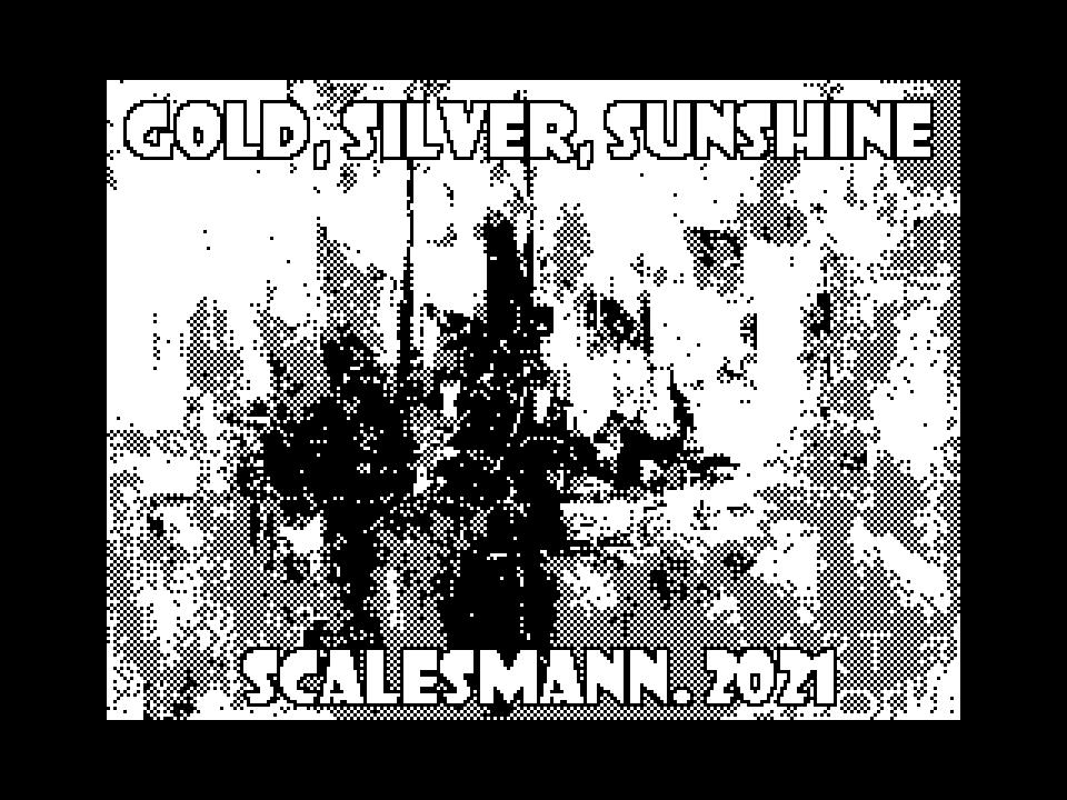 gold, silver, sunshine