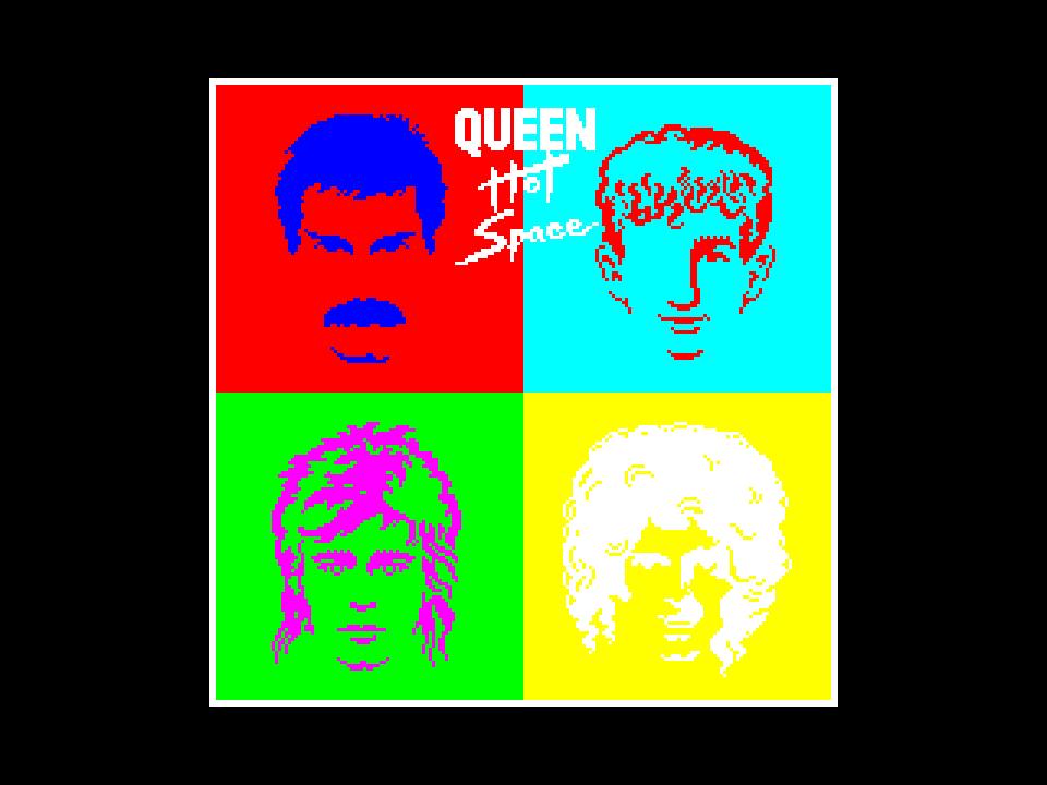 Queen - Hot Space (1982)