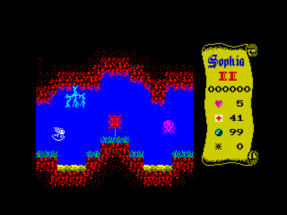 Sophia II (In-Game Screen, Level 2)
