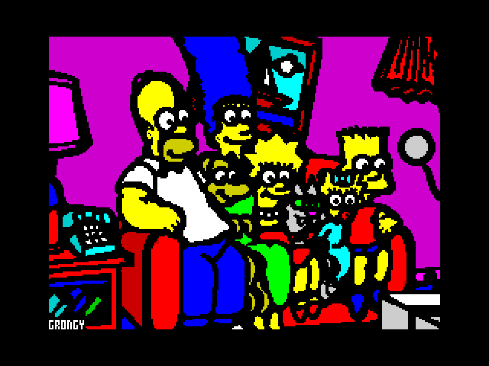 The Simpsons (cleaned-up version)