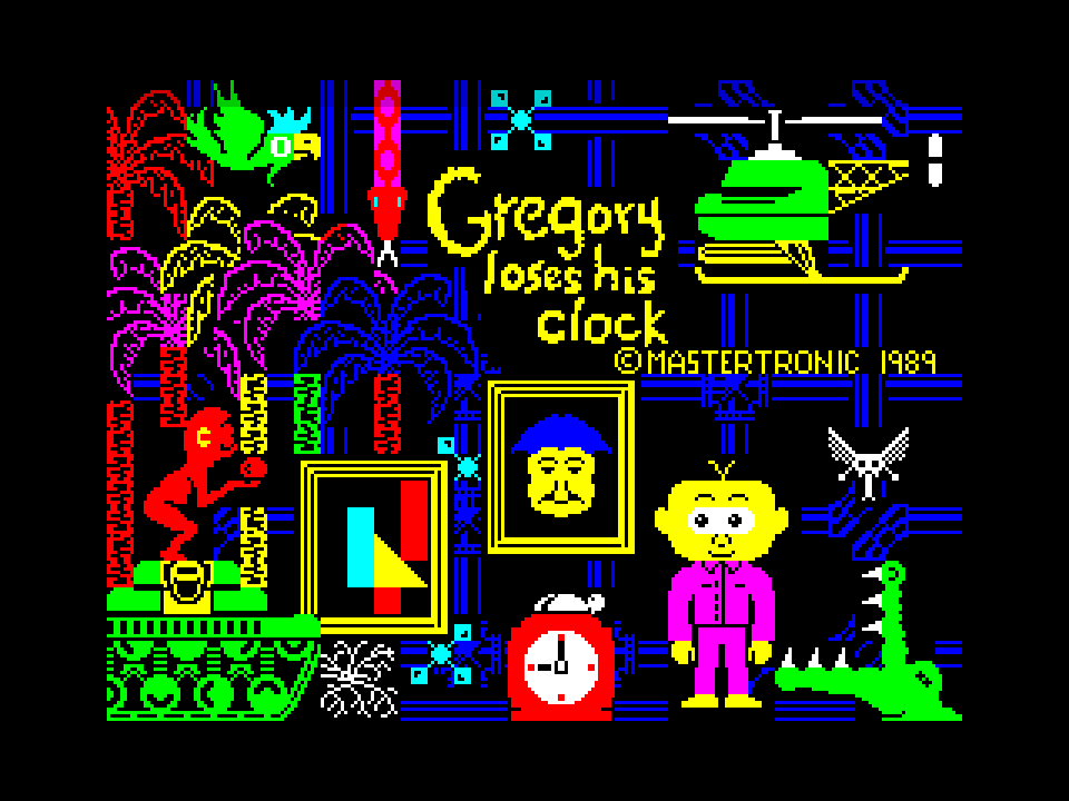 Gregory Loses His Clock