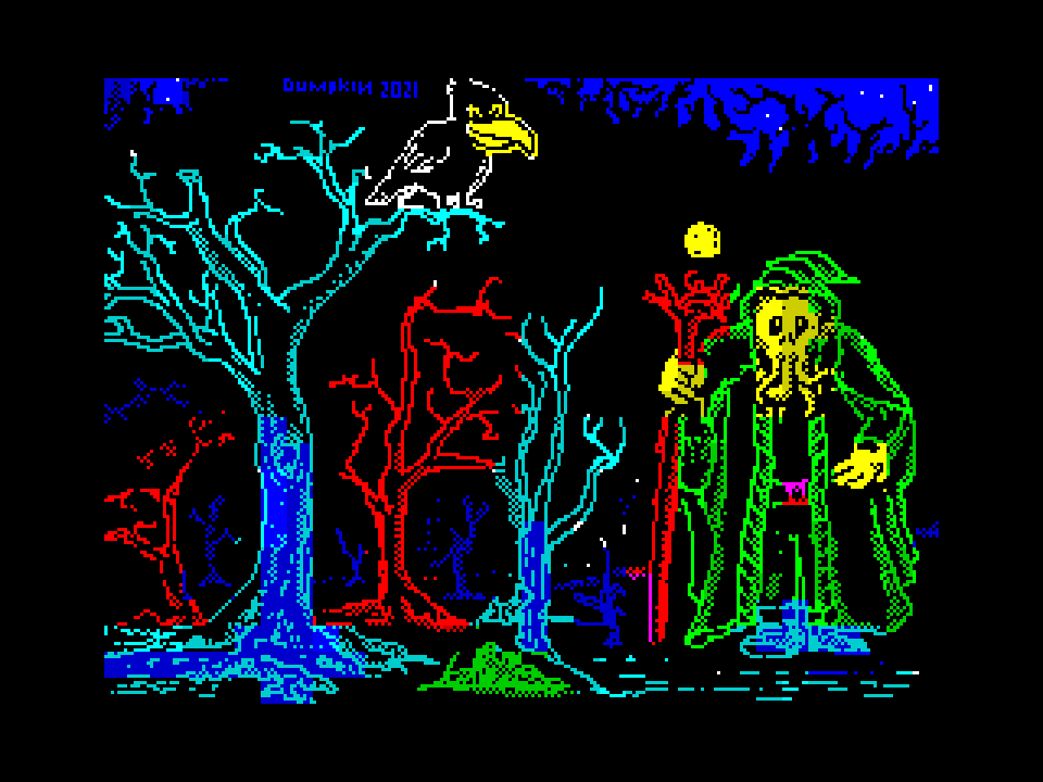 Wizards forest