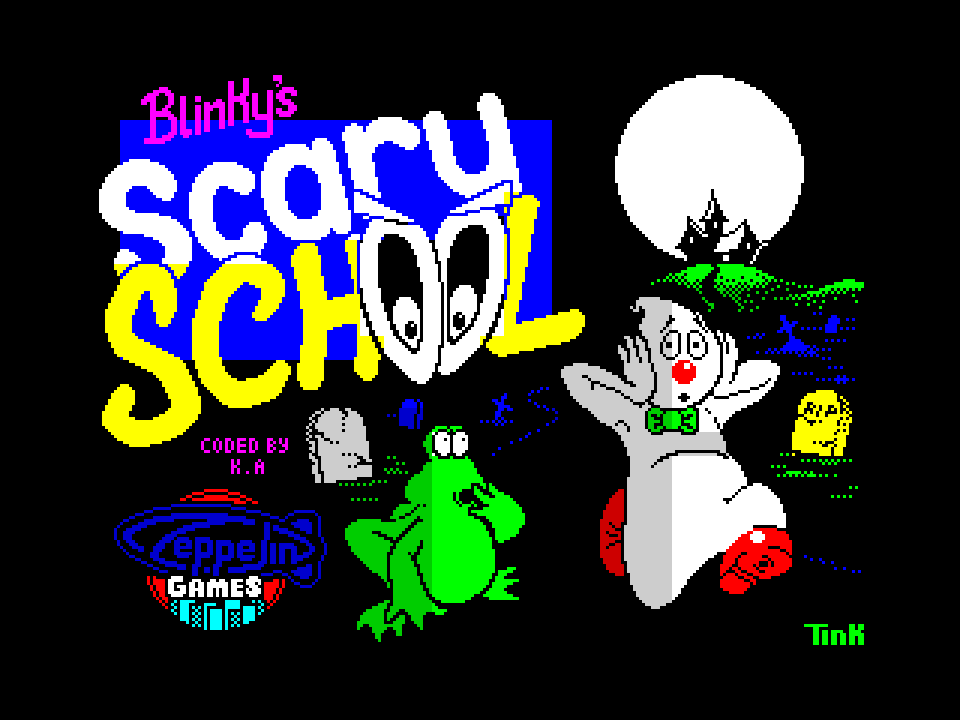 Blinkys Scary School