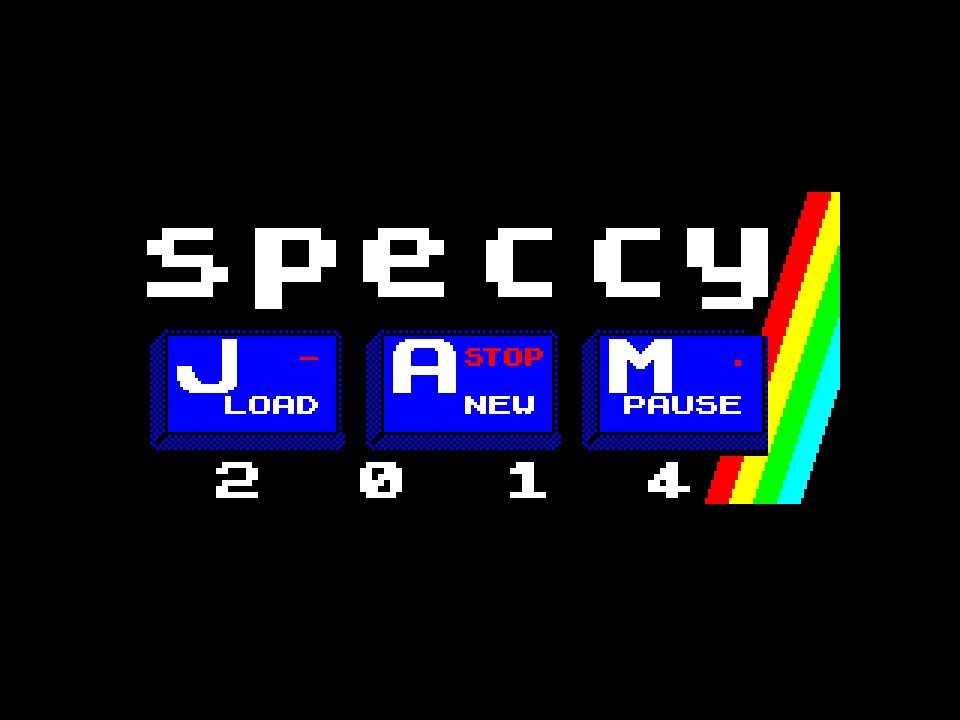 Speccy Jam 2014 Logo