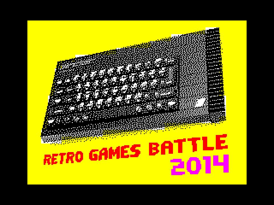 Retro Games Battle 2014 Logo