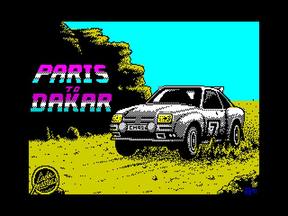 Paris to Dakar