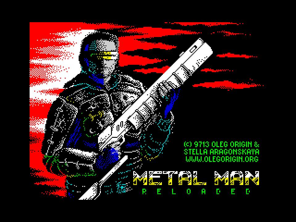 Metal man reloaded - loading screen