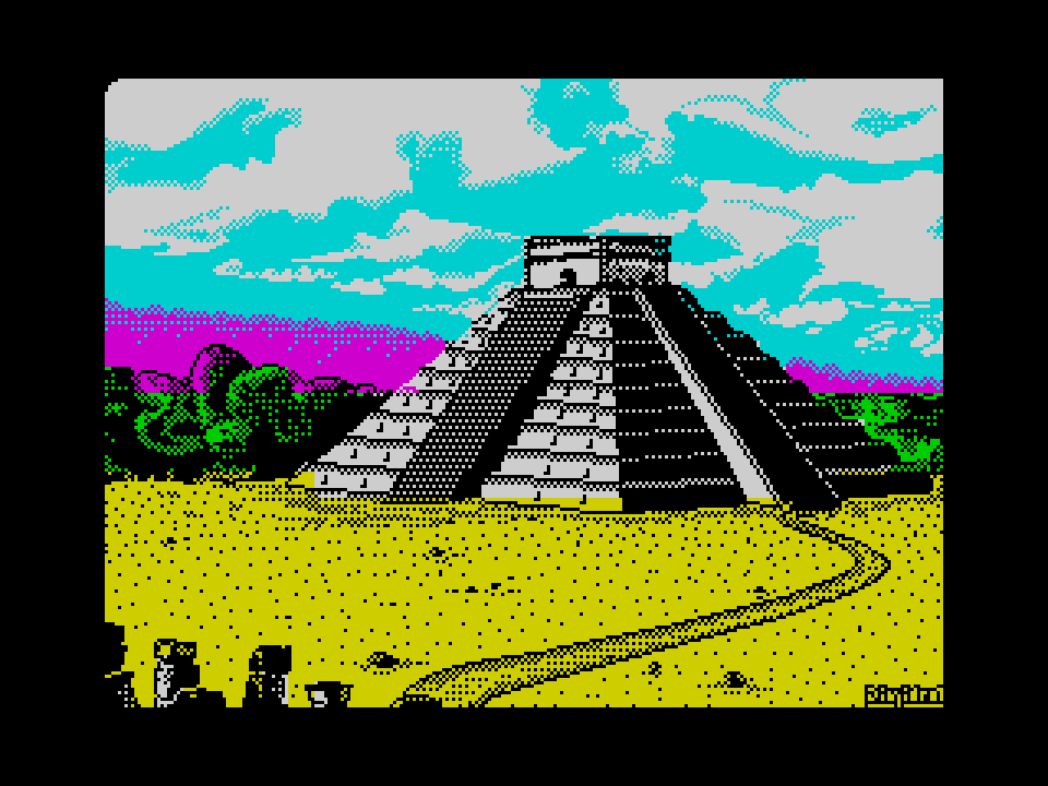 temple of the maya