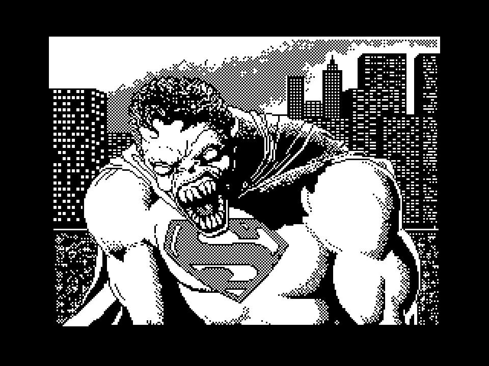 Superman Werewolf