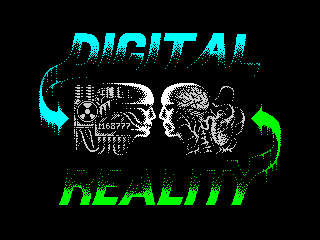 Digital reality logo (Digital reality logo)