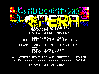 Hallucinations Opera 29 (Hallucinations Opera 29)